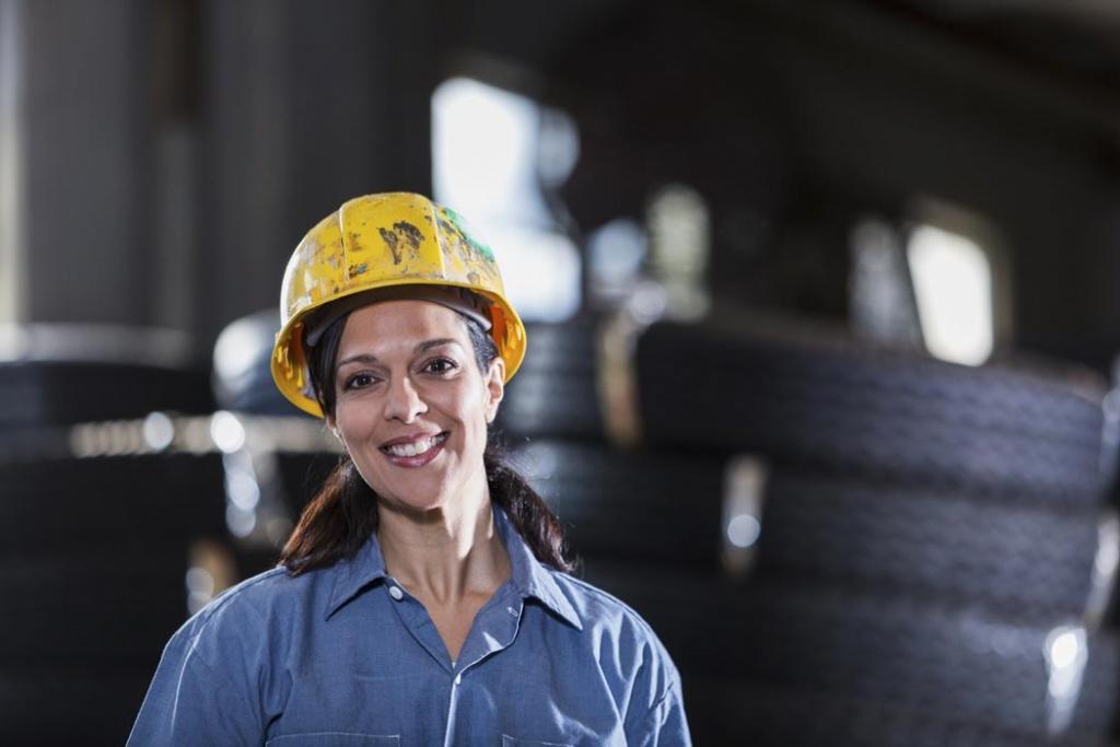Industriefachfrau